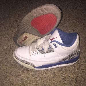 Air Jordan True Blue 3s Sz 10.5